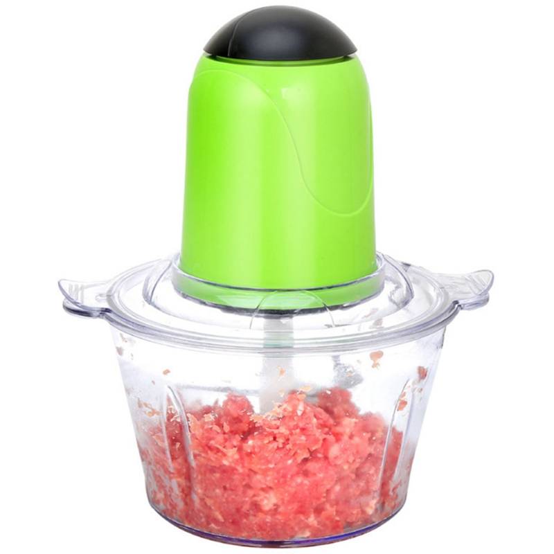 Electric Kitchen Chopper Shredder Food Meat Grinder Multi Household Food Processor 2L 4 Blades Mincer Home Fruit Mixer BlenderElectric Kitchen Chopper Shredder Food Meat Grinder Multi Household Food Processor 2L 4 Blades Mincer Home Fruit Mixer Blender