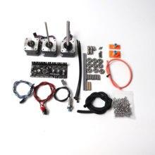 Prusa i3 MK2.5/MK3 MMU V2 kiti Çok Malzeme, kontrol panosu, motorlar kiti, FINDA probu, güç ve sinyal kabloları, pürüzsüz çubuklar