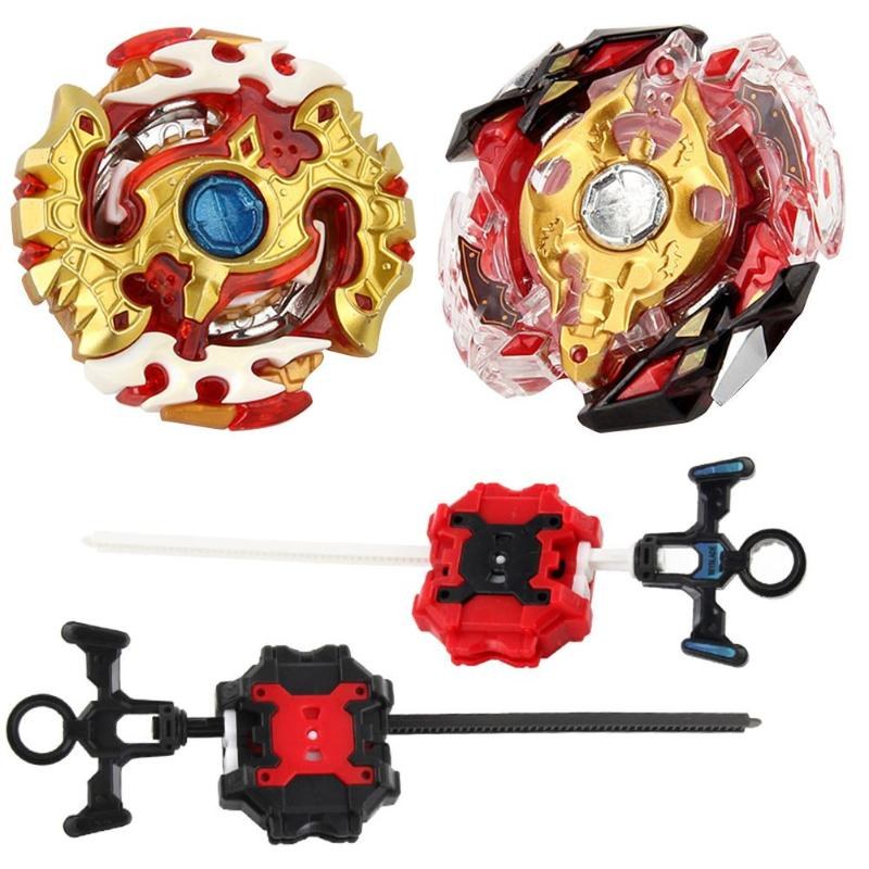 Metal Alloy Burst Gyro Fighting Gyroscope With Launcher Spinning Toys Classic Interesting Learning Toys For Children Kids Gift