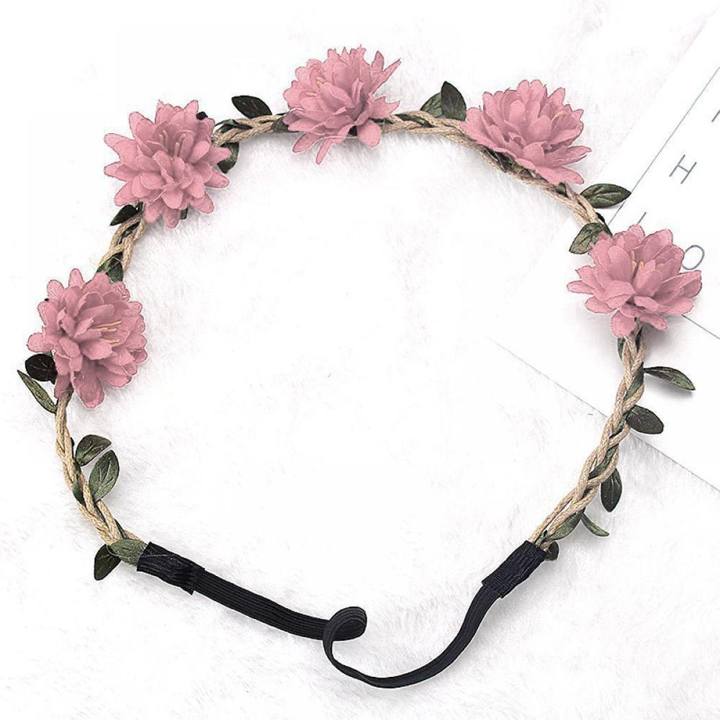 Faux White Hairband Daily   Headwear   Casual Fashion Flowers Coffee Handmade Party Women Casual Adult