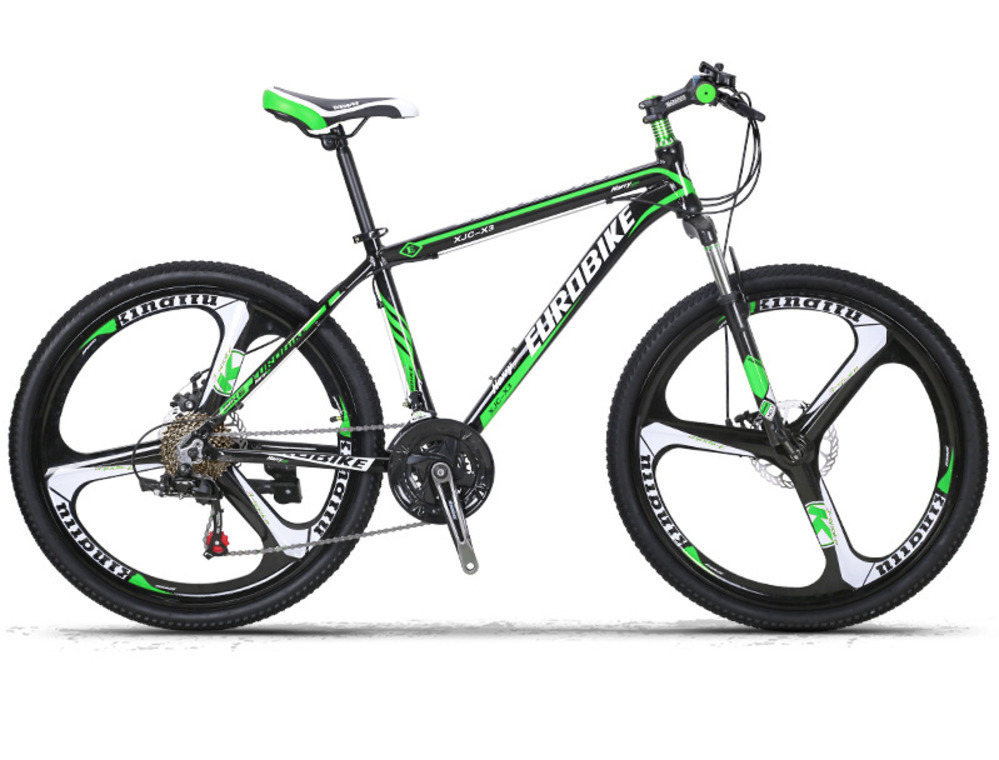 AC0300009l  Can Aluminium Alloy Disc Brake A Mountain Country Bicycle 26 Inch 21 Speed Magnesium Alloy Three Knife One Wheel X3