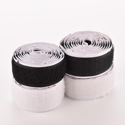 2Rolls/Set 3Ft Nylon Strap Hook Loop Self Adhesive Strong Sticky Fastener Tape Adhesives & Sealers