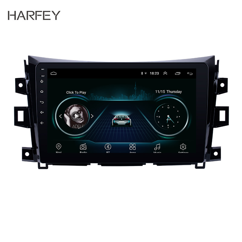 Harfey Touchscreen Android 8.1 Car Radio For 2011-2016 Nissan NAVARA Frontier NP300 10.1 AUX Multimedia Player GPS Navi StereoHarfey Touchscreen Android 8.1 Car Radio For 2011-2016 Nissan NAVARA Frontier NP300 10.1 AUX Multimedia Player GPS Navi Stereo