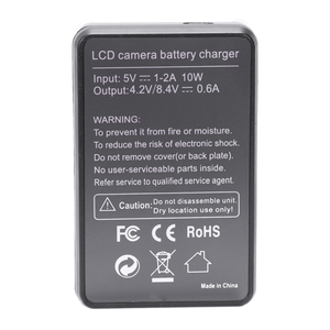 Image 4 - Smart Rechargeable Battery Charger Lcd Display Single Slot W Usb Cable For Np Bd1/Fd1/Ft1/Fr1 Lithium Batteries