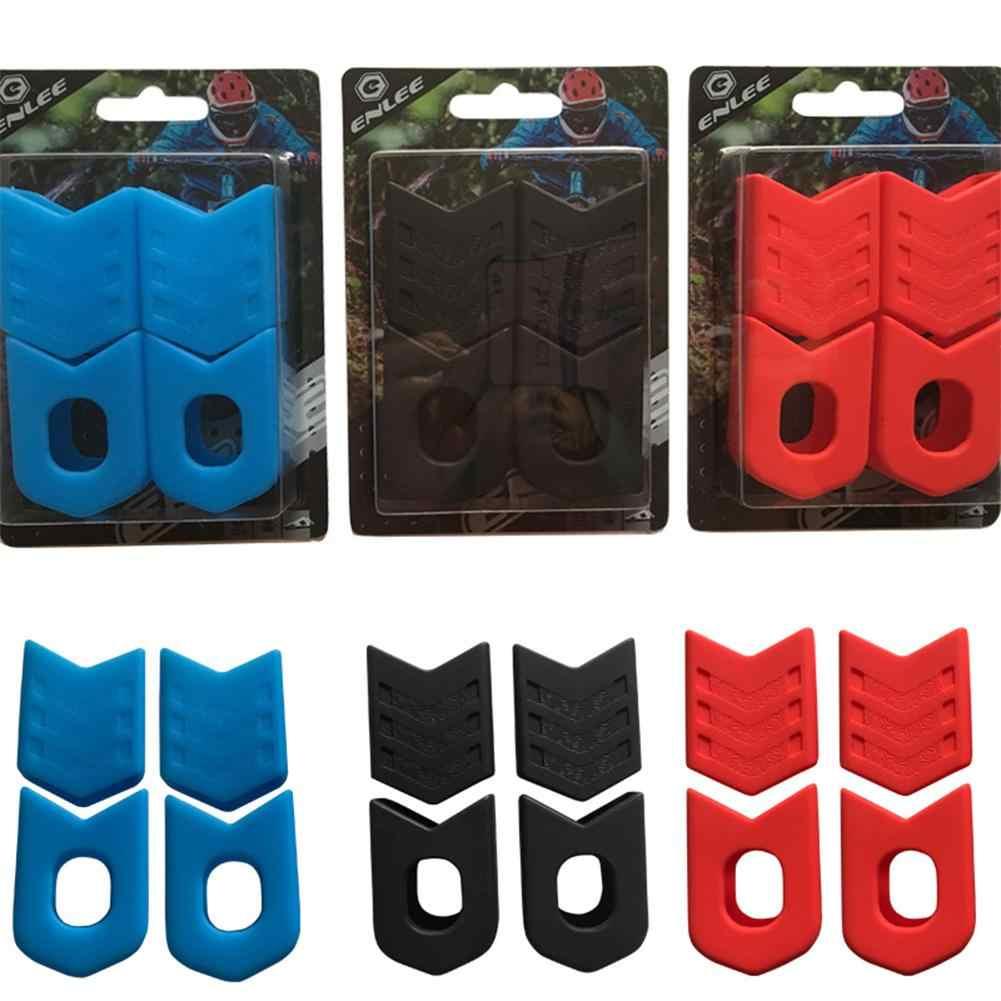 4 قطعة مجموعة دراجة كرنك غطاء للذراع العالمي الدراجة الجبلية MTB كرنك اكسسوارات مجموعة التيتانيوم 30T 32T 36T 38T 40T 42T chainring