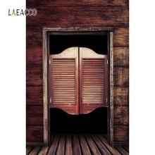 Laeacco Vintage Unique Wooden Door Backdrop Portrait Photography Background Photographic Backdrops For Photo Studio цена в Москве и Питере