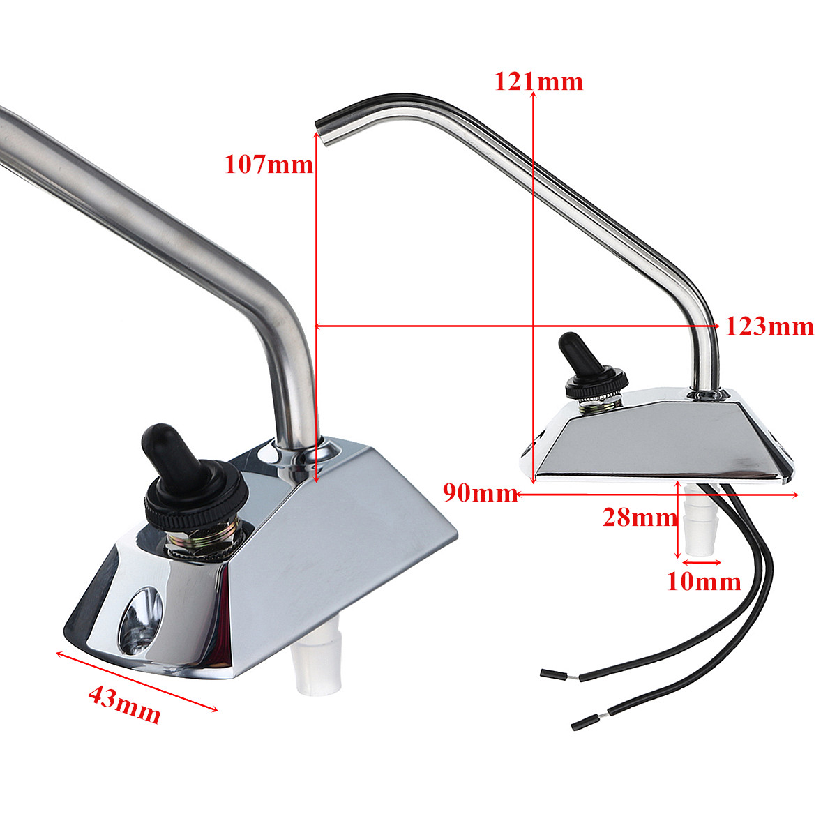 12V ELECTRIC WATER PUMP FAUCET TAP /& SWITCH-for Boat//Galley//Caravan//Motorhome//RV