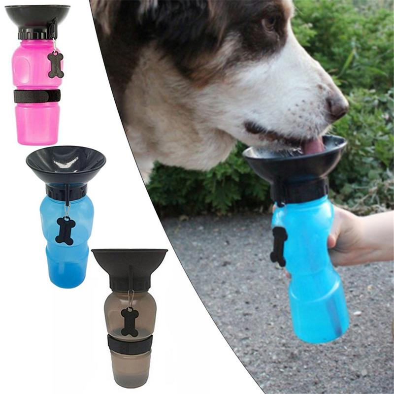Hot Sells 500ml Dog Drinking Water Bottle Pet Puppy Cat Sport Portable Travel Outdoor Feed Bowl Drinking Water Mug Cup Dispenser #6