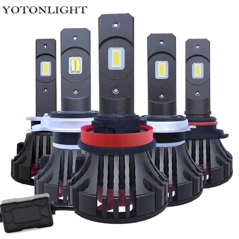 Yotonglight 2pcs Led H7 Canbus Car Headlight H1 H8 H9 100w 16000lm Lampada H4 Led Bulb H11 9005 Hb3 9006 Hb4 Led Lamps 12v 6000k