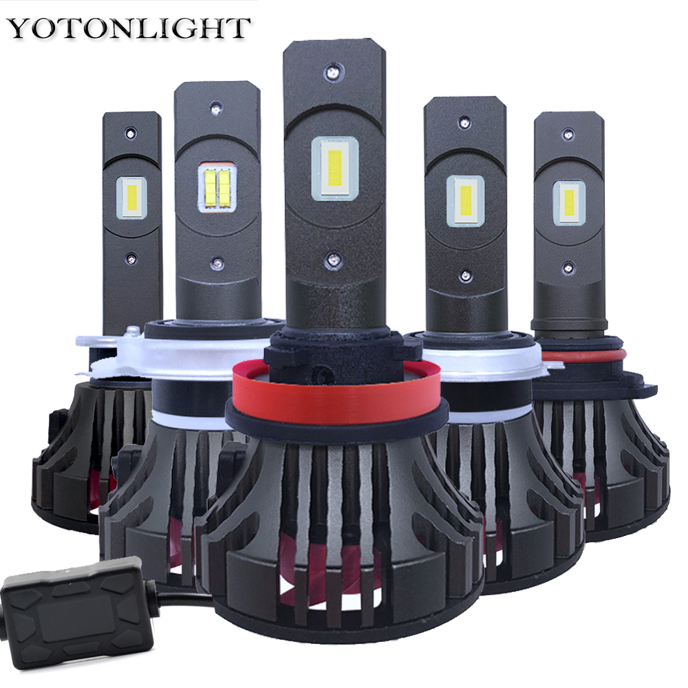YOTONGLIGHT 2 pièces Led H7 Canbus Voiture Phare H1 H8 H9 100 w 16000lm Lampada H4 Ampoule Led H11 9005 HB3 9006 HB4 lampes Led 12 v 6000 K