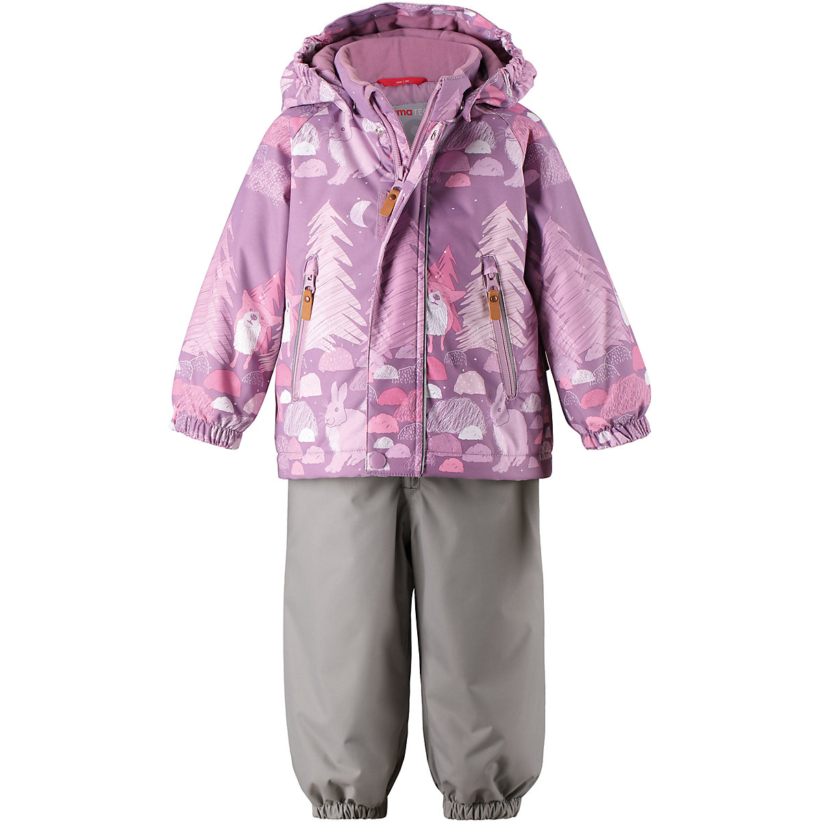 REIMA Childrens Sets 8689282 for girls children clothing winter stuff Suit set Jacket pants children clothing set kids girl clothes 2016 girls sets brand floral dobby kids tracksuit jacket dress girls clothing sets