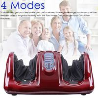 110V Electric Heating Foot Body Massager Shiatsu Kneading Rolling Vibration Machine Reflexology Calf Leg Pain Relief Relax