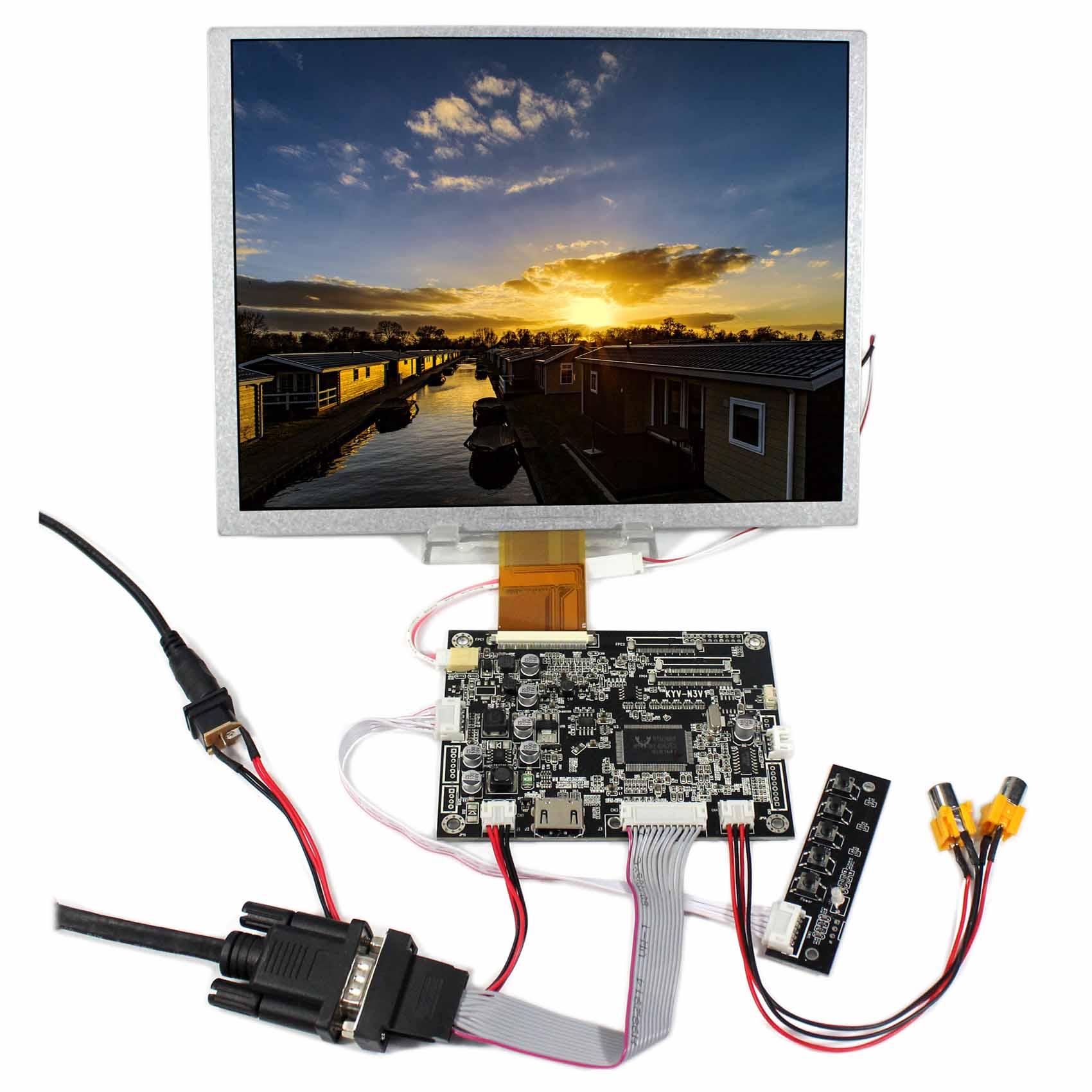 10.4inch LCD Screen  LSA40AT9001 800x600 With HDMI VGA AV  LCD Controller Board10.4inch LCD Screen  LSA40AT9001 800x600 With HDMI VGA AV  LCD Controller Board