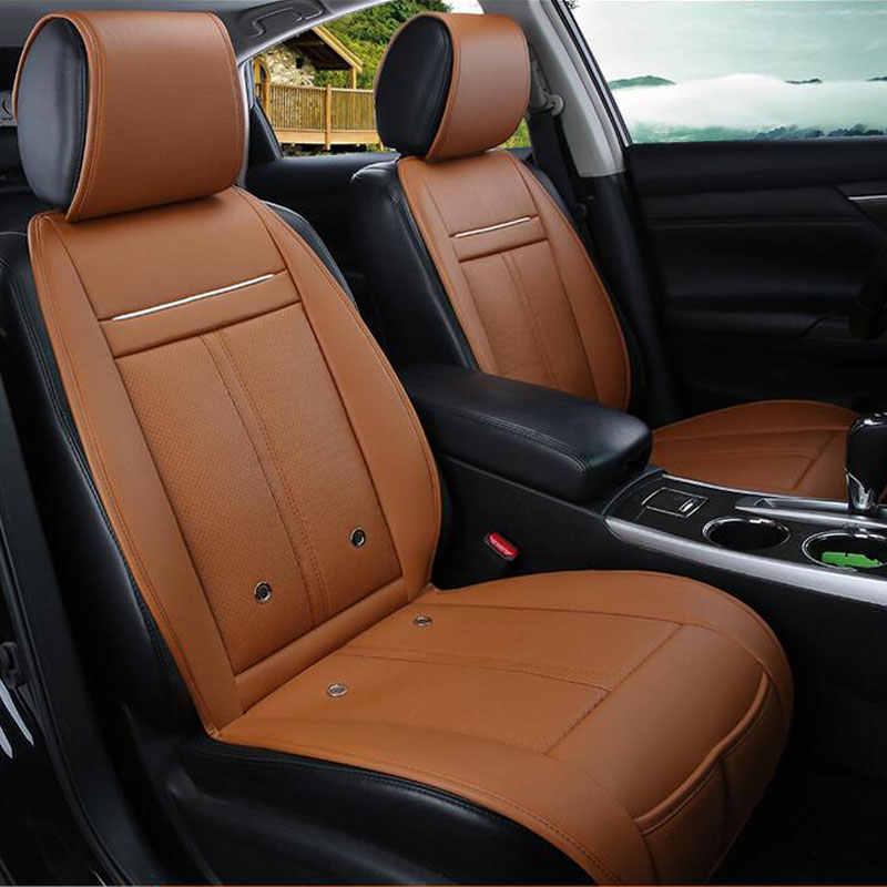 で 1 個 3 1 車の自動車シートクッション冷却加熱されたマッサージ座椅子カバークッションユニバーサル 12 V 電気加熱されたシートパッド