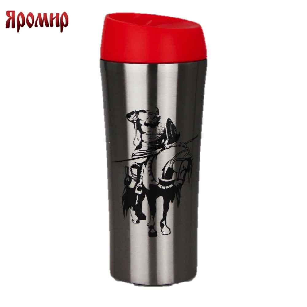 Vacuum Flasks & Thermoses Yaromir YAR-2403M thermomug thermos for tea Cup stainless steel water