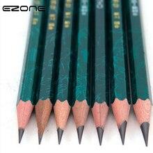 EZONE 2 шт. HB/2 H/2B/38/4B/5B/6B разные размеры карандаш Профессиональный эскизная ручка для набросков живопись граффити студенческие канцелярские принадлежности