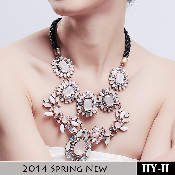 2014 Fashion Designer Custom Girls Chunky Statemen...