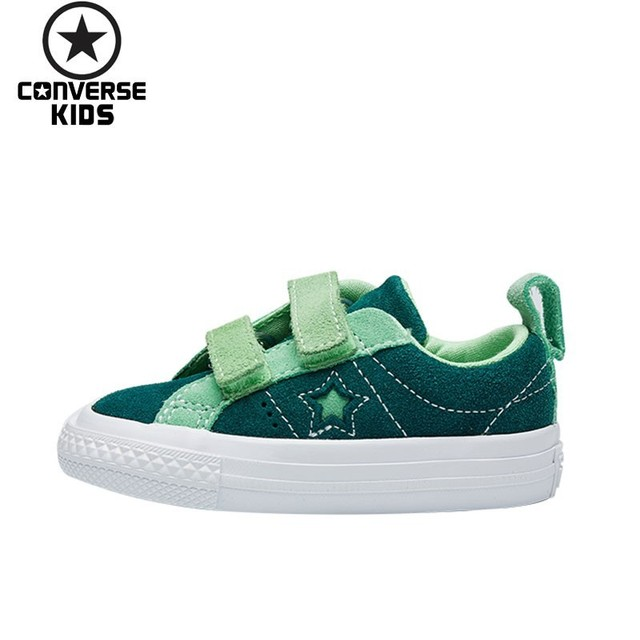 CONVERSE Children s Shoes One Star Magic Subsidies Children Leisure Time  Sneakers Male Baby Shoes  762006C 762005C 762004C e94f7d9b5307