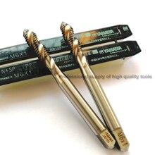 2pcs 10pcs HSSE Sipral scanalate rubinetto M1 M1.2 M1.4 M1.6 M2 M11 M2.3 M2.5 M2.6 M3 M3.5 M4 m4.5 M5 M6 M7 M8 M9 M10 M12 Maschi a Macchina
