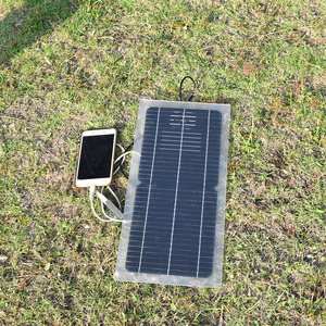 Image 5 - 18V 10W Monocrystalline 솔라 패널 + 10A 충전 컨트롤러 배터리 충전기 + LED RV 자동차 보트 관광 태양 램프 3W