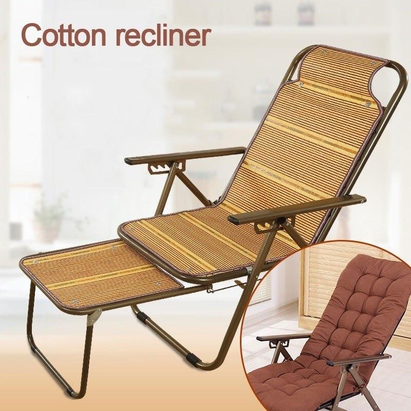 Бамбуковый Коврик шезлонг стул для пожилых беременных женщин обеденный перерыв стул Щелкунчик Прохладный стул