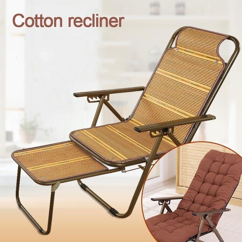 Bamboo Mat Deck Chair The Elderly Pregnant Woman Noon Break Chair Slacker Cool Chair
