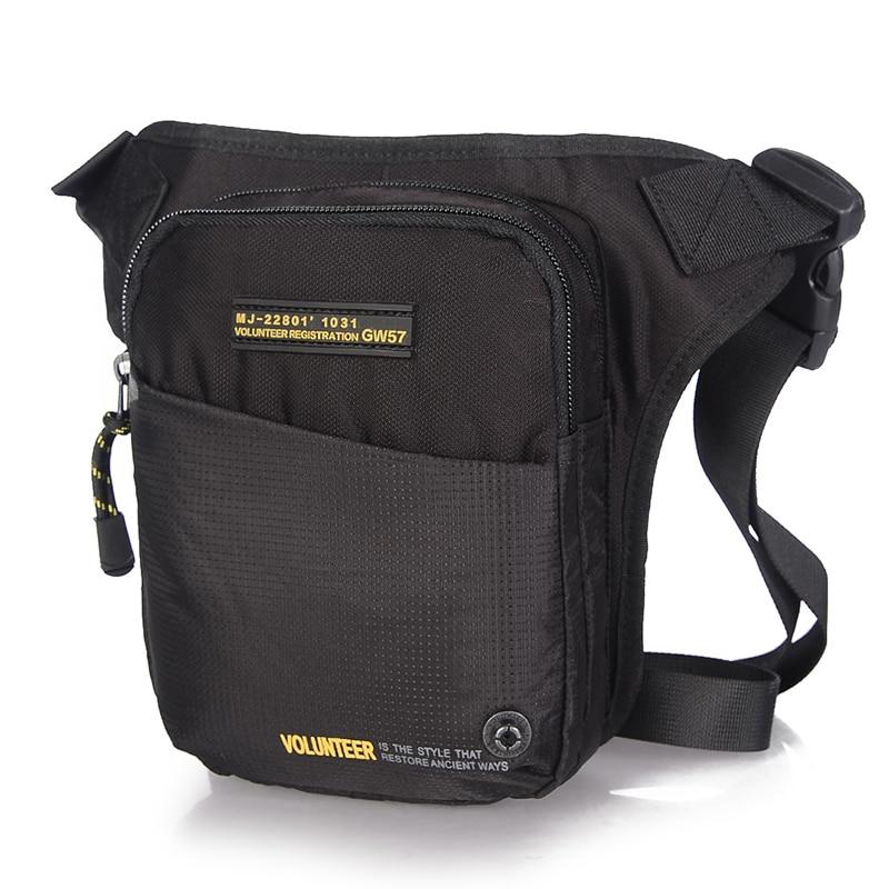 New Military Waist Chest Leg Drop Bags Cross Body Shoulder Bag Male High Quality Waterproof Oxford Men Hip Bum Fanny Belt Pack
