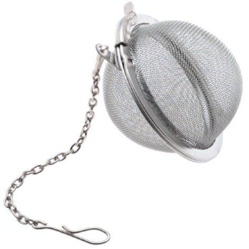 TM STAINLESS STEEL TEA BAG SQUEEZER INFUSER FILTER STRAINER STEEP BREW HERBAL SPICE Fusion