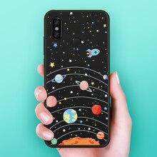 Silicone Case For Xiaomi Redmi Note 7 5 6 Pro Cute Cartoon Cover 6A Plus 4X Bumper Funda Coque