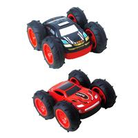 New Double Sided Stunt Remote Control Car Charging 360 Dump Truck Children Remote Control Toy Car Gifts