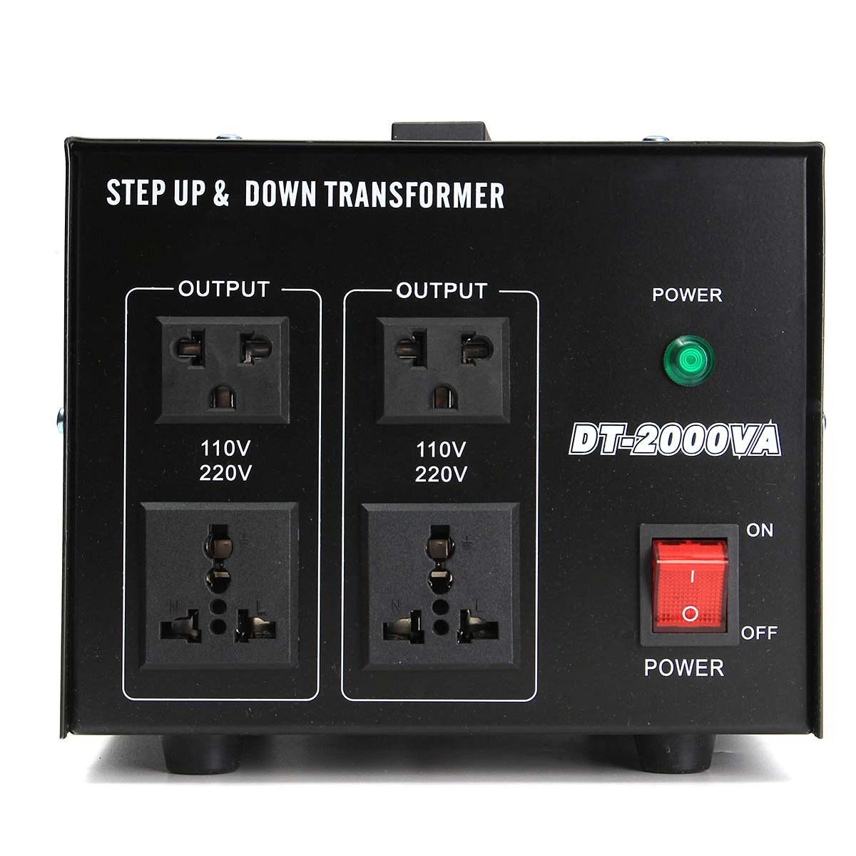 500/1000/2000/3000/5000 W convertisseur de tension lourde transformateur de puissance 220 V auf 110 V convertisseur - 4