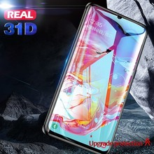 Full Cover Protective Glass For Samsung Galaxy A 10 20 30 40 50 60 70 80 90 31D Screen Protector M Tempered 2019