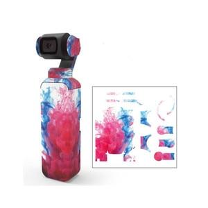 Image 2 - พรางสีสันสดใส Decals กล้องป้องกันฟิล์มสติกเกอร์กันน้ำสำหรับ DJI OSMO Pocket Handheld Gimbal อุปกรณ์เสริม