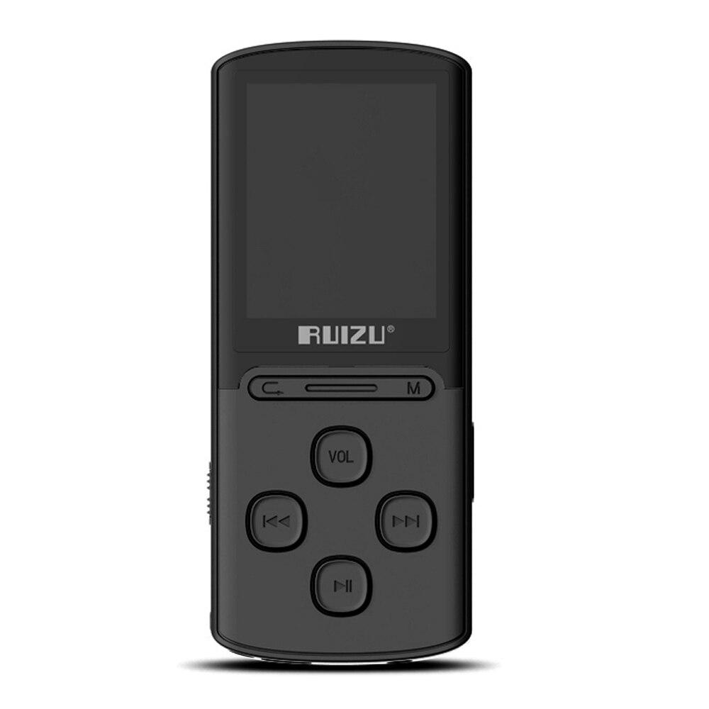 Ruizu 8 Gb Mp3 Digitale Musik Player X11 Verlustfreie Musik Audio-player E-book Tf Kartenleser Fm Radio Stimme Aufnahme W/1,8 bildschirm ZuverläSsige Leistung Tragbares Audio & Video