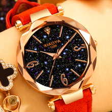 Luxury Watches Women 2018 Best Sell Star Sky Dial Clock Rose Gold Bracelet Analog Quartz Wrist Watches Dropshipping Montre femme vintage luxury women square crystals watches melissa elegant lady bracelet wrist watch quartz analog relojes shell montre femme