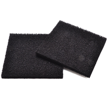 2pcs Square Foam Sponge Air Impregnated Sheet 13*13cm Black Activated Carbon Filter for Electronic Solder Smoke Extractor