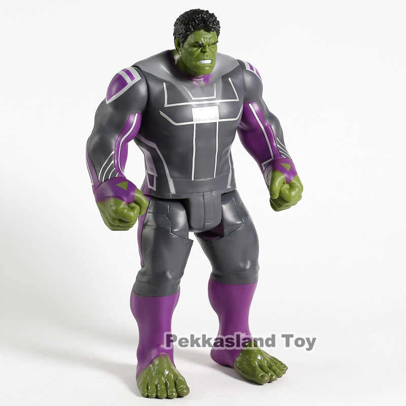 Marvel Titan Hero Series Avengers Endgame Hulk PVC Action Figure ของเล่นสะสม