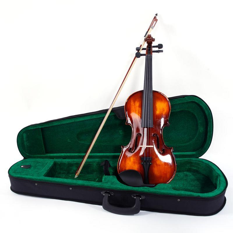 Ebony Violin Tuning Pegs /& Endpin /& Strings Set für 4//4 Größe