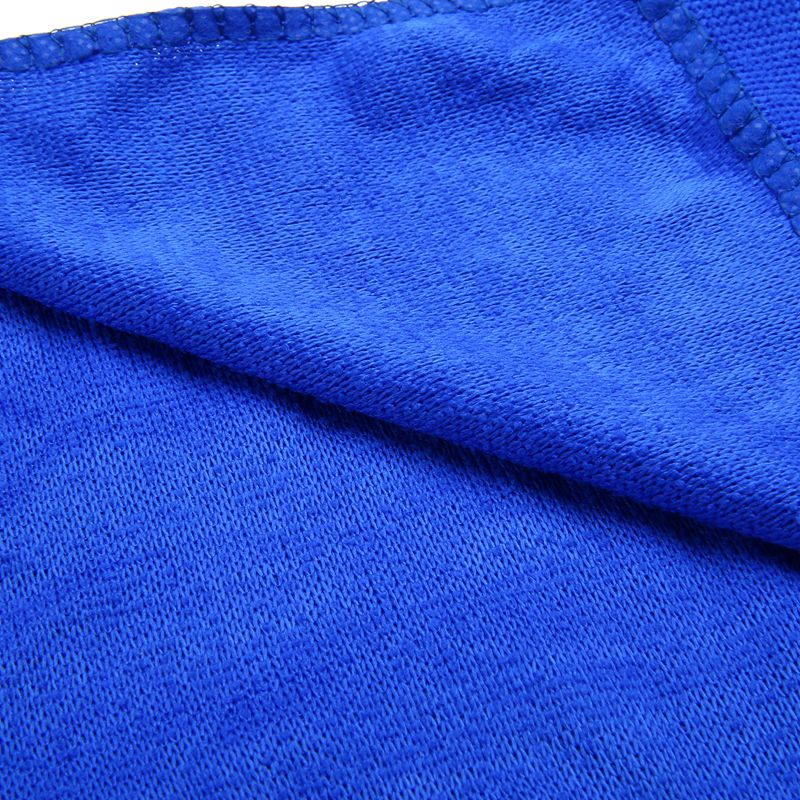 Image 4 - 10Pcs Blue Car Soft Microfiber Cleaning Towel Absorbent Washing Cloth Square for Home Kitchen Bathroom Towels Auto Care 30x30cm-in Car Washer from Automobiles & Motorcycles