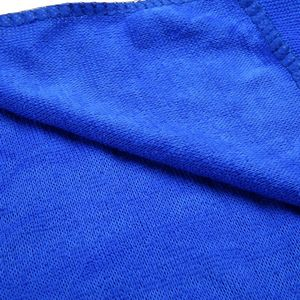 Image 4 - 10Pcs Blue Car Soft Microfiber Cleaning Towel Absorbent Washing Cloth Square for Home Kitchen Bathroom Towels Auto Care 30x30cm