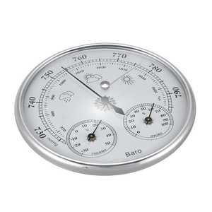 Image 2 - Wall Mounted Household Thermometer Hygrometer High Accuracy Pressure Gauge Air Weather Instrument Barometer
