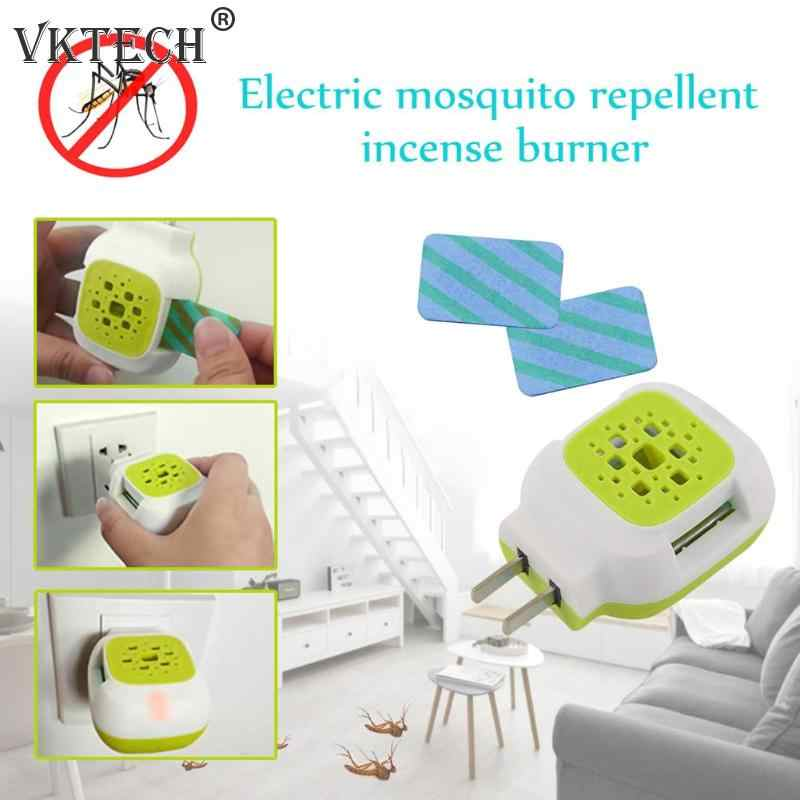 Plastic Elektrische Flies Mosquito Repeller Wierook Kachel Muggenspray Tabletten Mug Killer Anti Mosquito Ongediertebestrijder