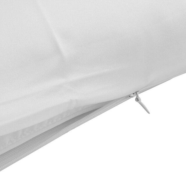 Classic Satin Silk Plain Pillow Case 6