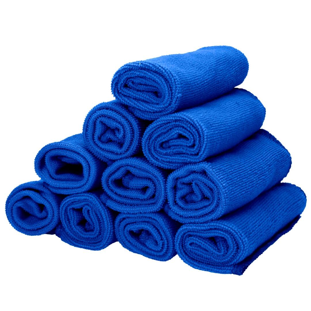 10PCS Auto Car Microfibre Cleaning Detailing Soft Cloths Wash Duster Care Cloth Detailing Car Wash Towel