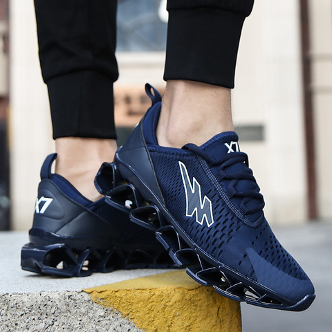 running Sports shoes man for Adults Breathable Outdoors Activities Cushioning Jogging Walking hot sale autumn Sneakers man Lahore