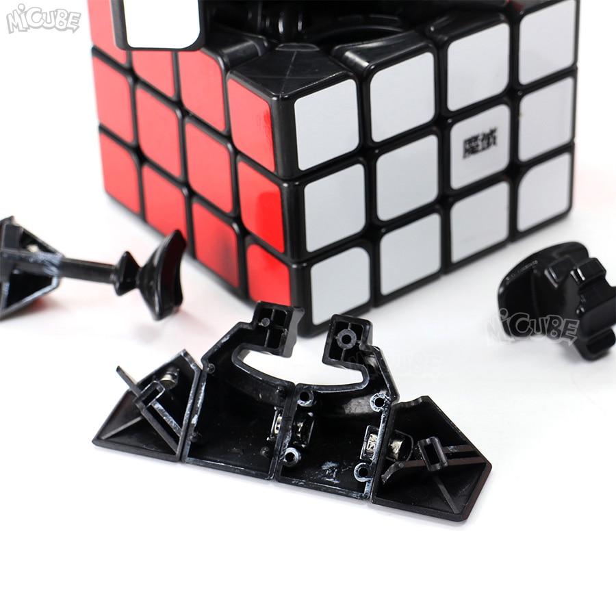Moyu Aosu GTS2M GTS2 M 4x4x4 Cube magnétique vitesse Puzzle Cubo Magico 4x4 Aosu GTS V2 M pour jouet enfant noir sans autocollant professionnel - 3