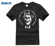 GILDAN Tom Waits - Dance Around In Your Bones T-Shirt Good Quality Brand Cotton Shirt Summer Style Cool T  Basic Tops