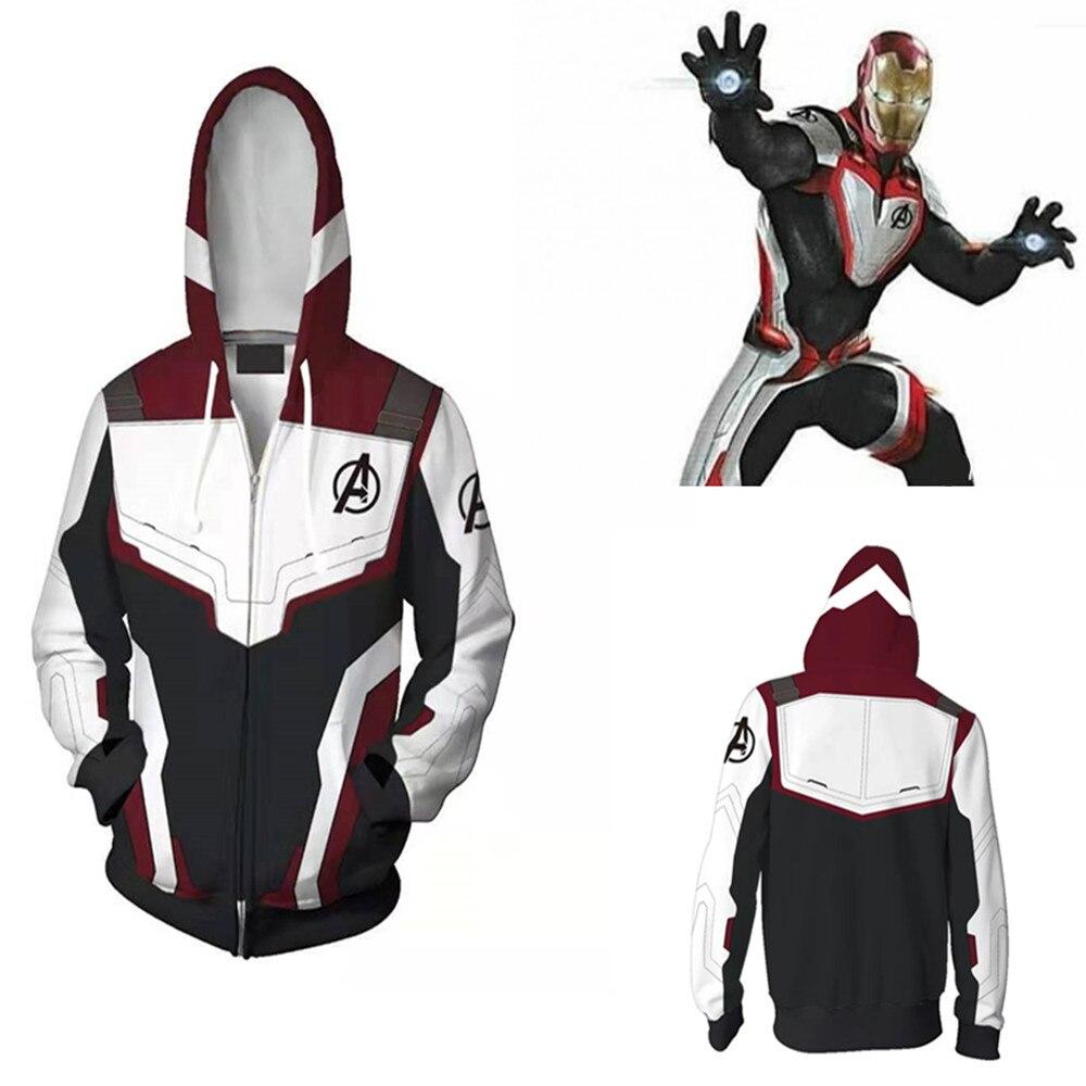 Avengers Endgame Thor Hoodie Sweater Unisex Coat Jacket Cosplay Costume Tops