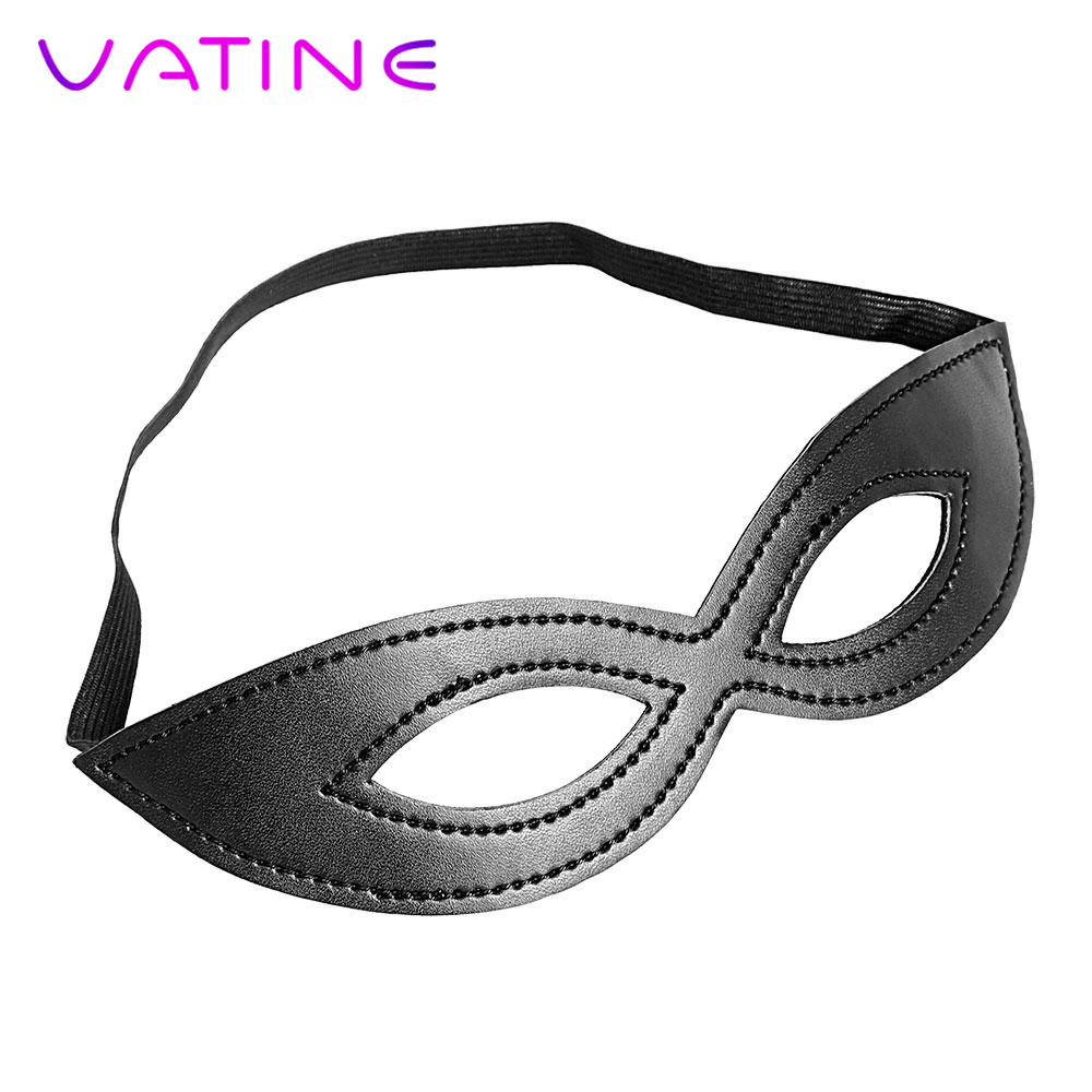 VATINE Flirt PU Leather Erotic Toys Party Sex Toys for Couple Sex Eye Mask Adult Games SM BondageVATINE Flirt PU Leather Erotic Toys Party Sex Toys for Couple Sex Eye Mask Adult Games SM Bondage