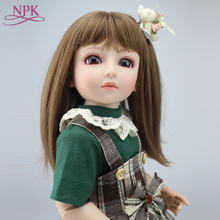 купить Fashion girl BJD doll Handmade BJD Reborn doll princess babies Joint dolls  45cm 1/4 SD/BJD Dollhouse Toys Reborn baby doll онлайн
